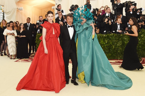 Anne Hathaway, Pierpaolo Piccioli and Frances McDormand Met Gala