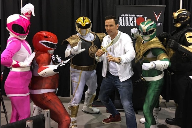 power rangers star targeted by gunman dressed as the punisher at phoenix comicon power rangers star targeted by gunman