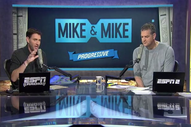 With things icy, ESPN's 'Mike & Mike' could end sooner than planned