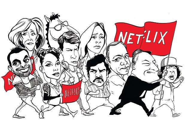 Netflix Revolution CMS FEA