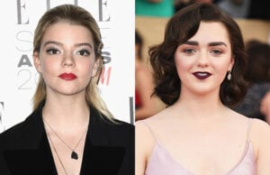 Anya Taylor-Joy Maisie Williams New Mutants