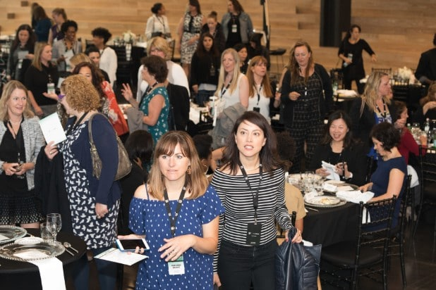 Attendees at Power Women Breakfast San Francisco 2017