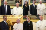 Pope Francis + leaders