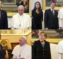 Pope Francis + leaders