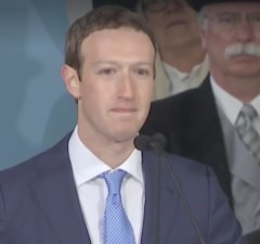 mark zuckerberg harvard commencment