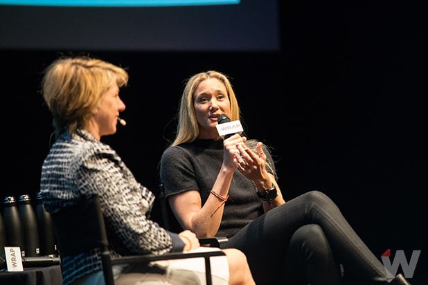 Kerri Walsh Jennings Sharon Waxman Power Women Breakfast San Francisco 2017