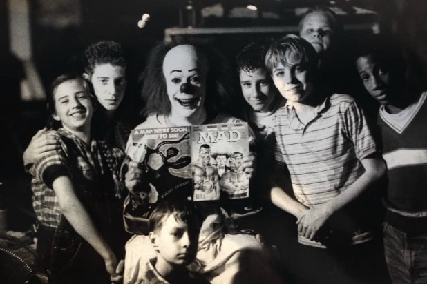 "Jonathan Brandis, who portrayed young Bill Denbrough in ""It,"" had worked on another Stephen King film adaptation the year prior."
