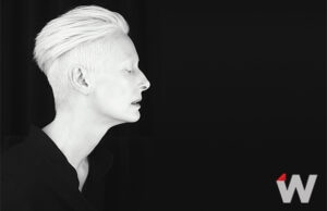 Tilda Swinton Cannes Photographed by Nicolas Guerin / Produced by Clotilde Lecuillier & Sarah Lafrontiere for TheWrap