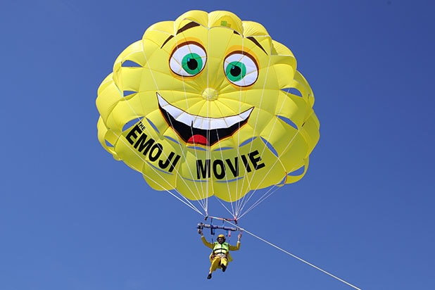 TJ Miller Emoji Movie Cannes