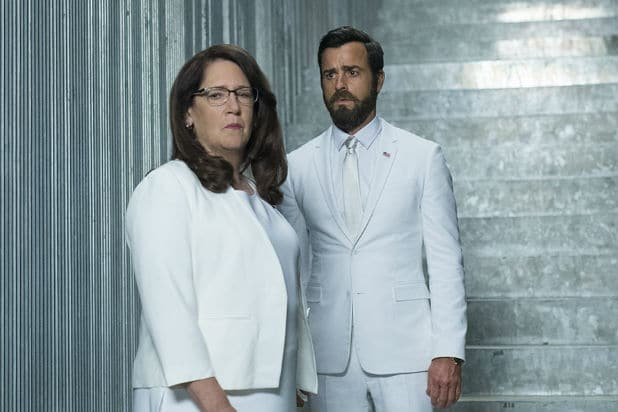 The Leftovers Ann Dowd Justin Theroux
