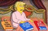 Trump Simpsons