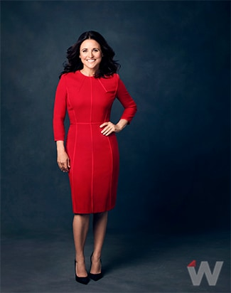 JULIA LOUIS DREYFUS of Veep