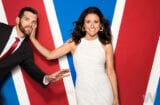 Julia Louis-Dreyfus and Timothy Simons, Veep