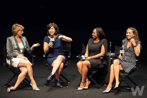 Sharon Waxman, Kendra Bracken-Ferguson, Kathleen Grace, Lisa Sugar Power Women Breakfast San Francisco 2017