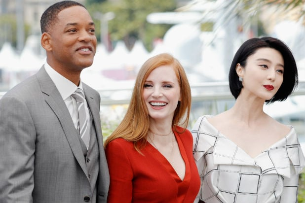 Will Smith Jessica Chastian Fan Bingbing Cannes