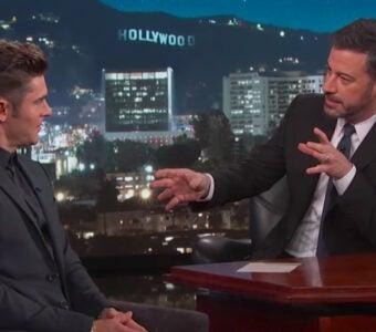Zac Efron on 'Jimmy Kimmel Live'