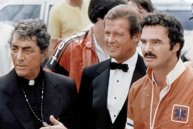 cannonball run roger moore