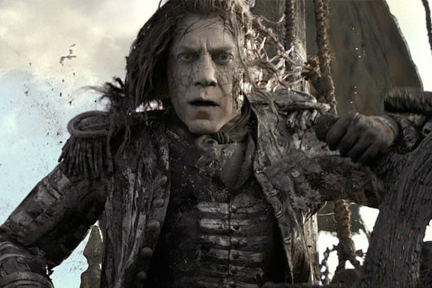 pirates of the caribbean dead men tell no tale javier bardem box office