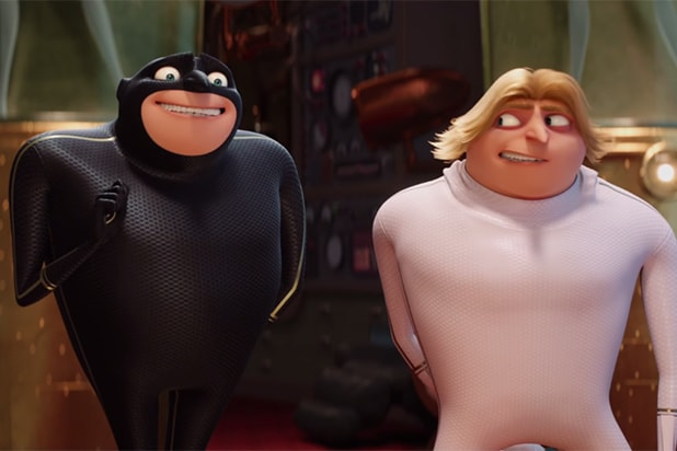Despicable Me 3 Gru And His Twin Get Back Into Super