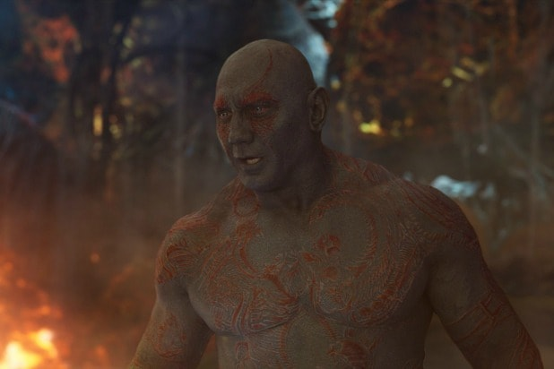 drax dave bautista guardians of the galaxy vol 2