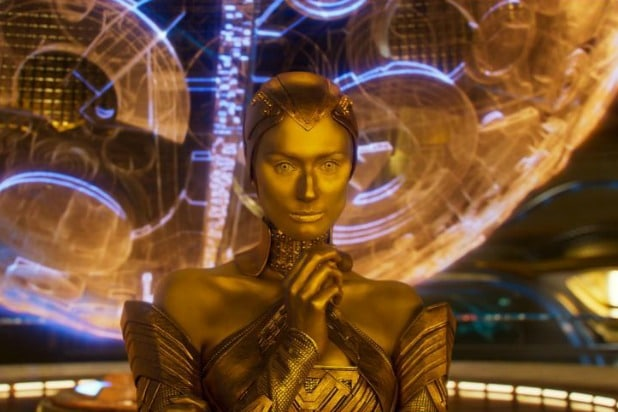 elizabeth debicki sovereign lady ayesha guardians of the galaxy vol 2 post credits scene adam warlock