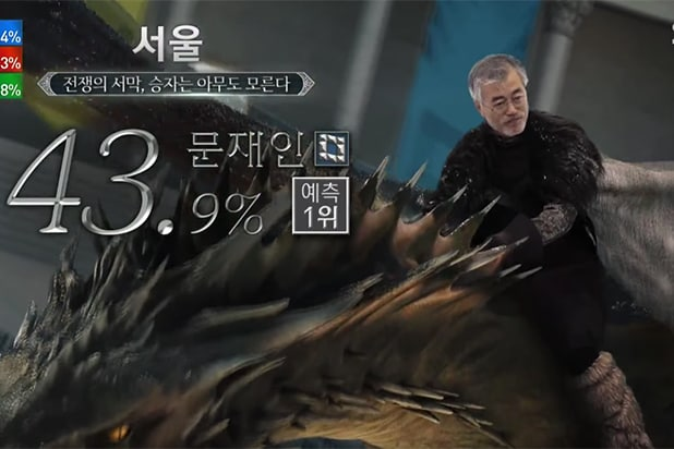Game of Thrones South Korea president