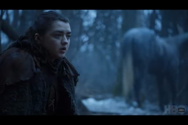game of thrones trailer arya heads north