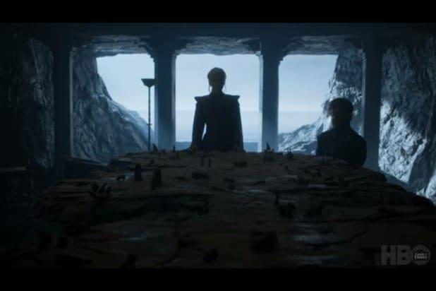 game of thrones trailer daenarys tyrion strategy session