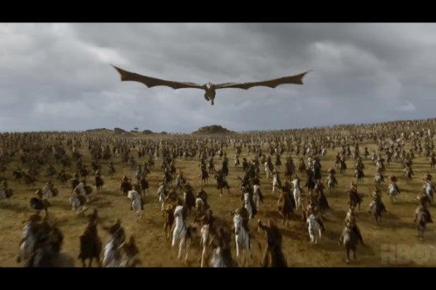 game of thrones trailer dothraki dragon
