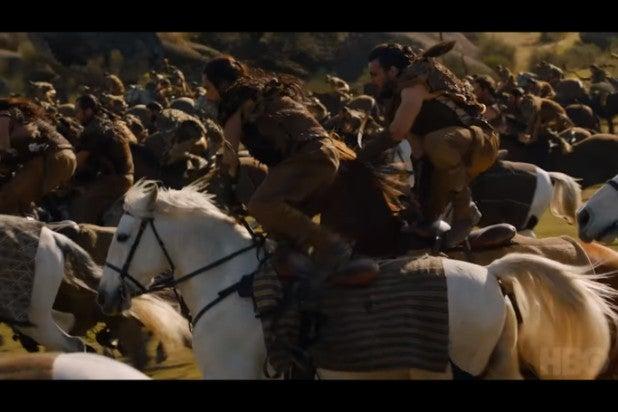 game of thrones trailer dothraki war party