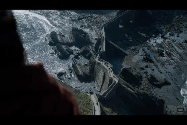 game of thrones trailer melisandre at dragonstone