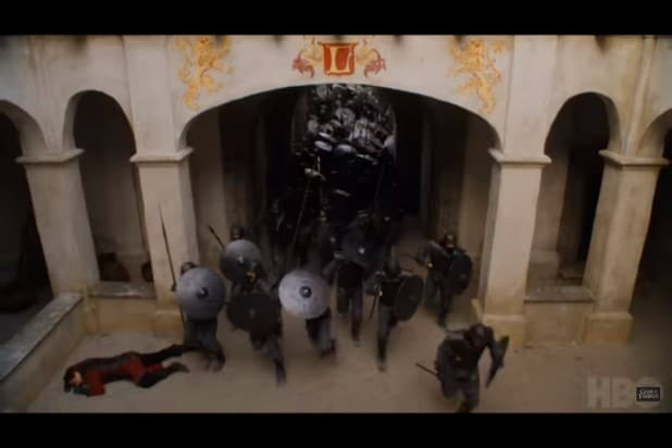 game of thrones trailer unsullied attack lannisters