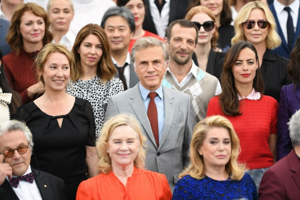 group shot cannes