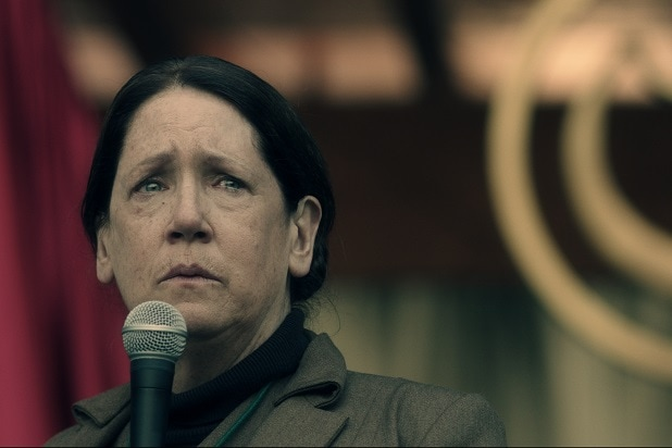 handmaid's tale characters aunt lydia ann dowd