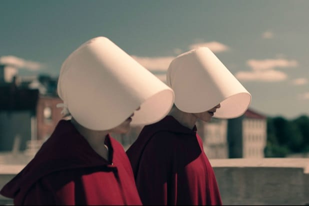 Women Don Handmaids Tale Costumes To Protest Texas Abortion Bills