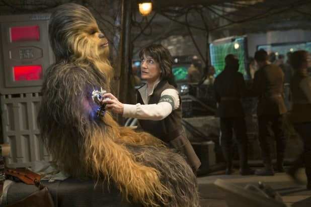 harriet walter star wars the force awakens