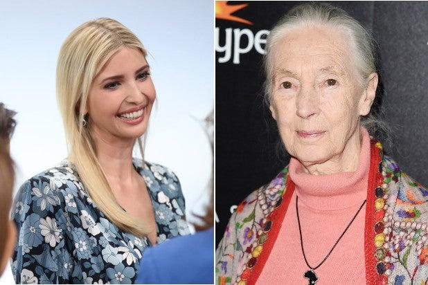 Ivanka Trump Jane Goodall