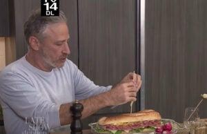 Jon Stewart on 'The Late Show'