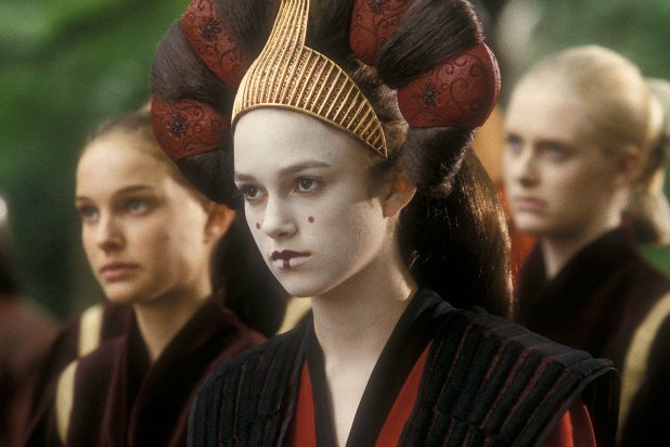 keira knightley handmaiden decoy queen star wars episode i the phantom menace