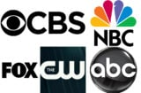 TV networks CBS ABC NBC Fox CW