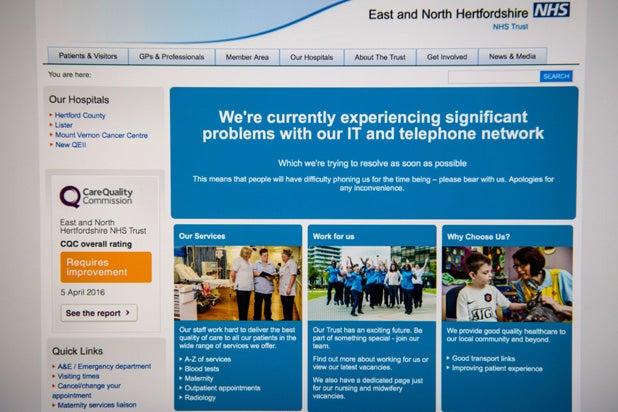 NHS hack