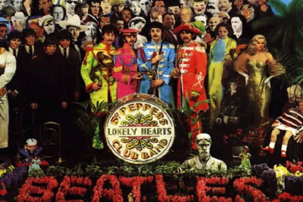sgt pepper front cover