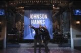 snl saturday night live the rock dwayne johnson tom hanks running for president