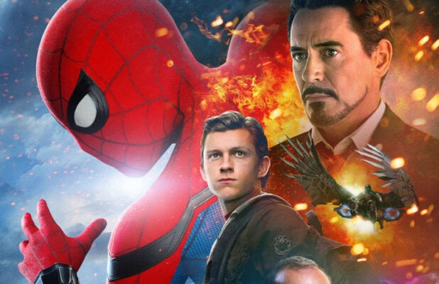 New Spider Man Homecoming Poster Sets Off Fans Is Iron Man The Hero