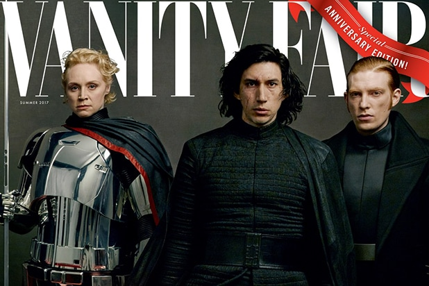 General Leia Stands Tall, Captain Phasma Unmasked in Vanity Fair 'Star Wars' Covers (Photos)