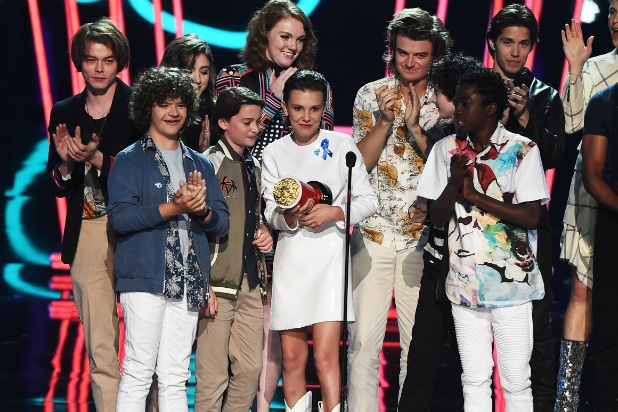 Stranger Things MTV Awards