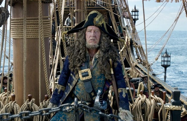 pirates of the caribbean dead men tell no tale javier bardem geoffrey rush
