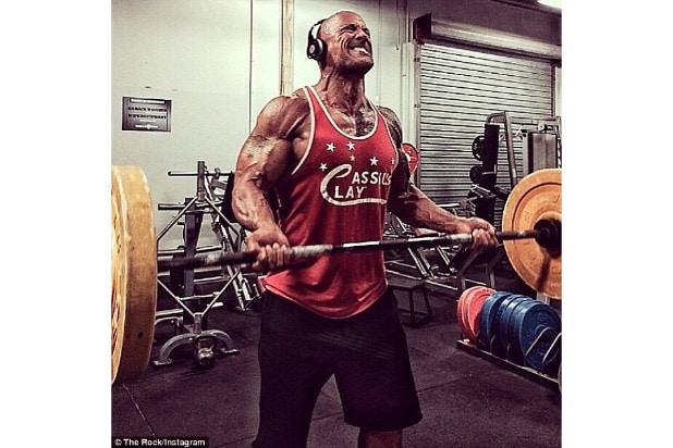 the rock workout