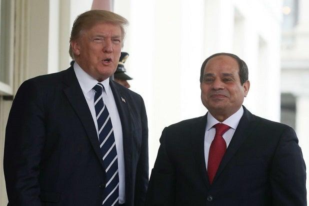 trump Abdel Fatah el-Sissi praise dictator authoritarian strongman