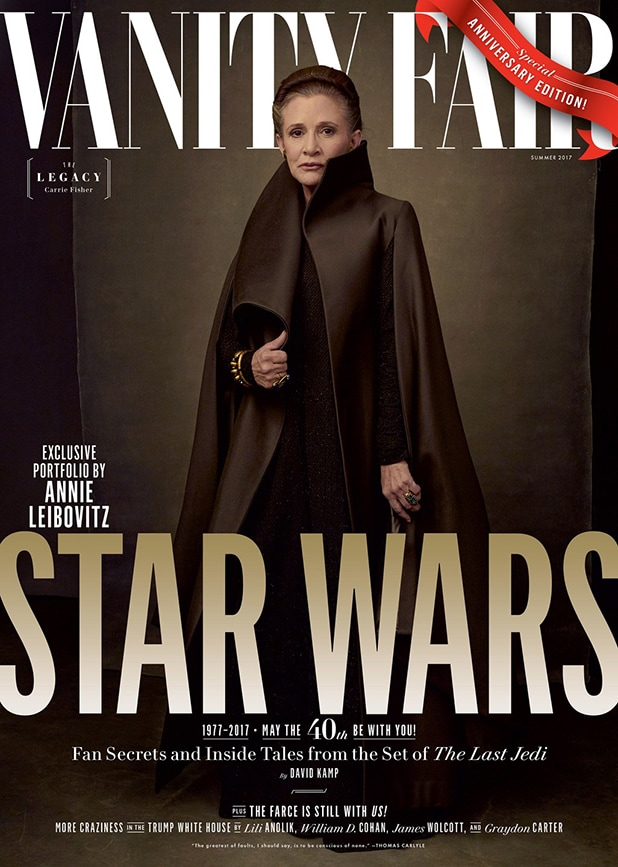 Star Wars Carrie Fisher Vanity Fair